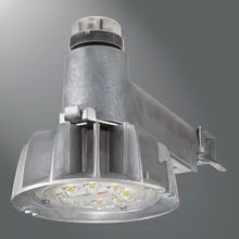 CTKRV1A LUM 50W LED 120V 5200 LUMENS 36,000 HOUR CARETAKER DUSK TO DAWN WITH PHOTOCONTROL AND WALL/POLE MOUNT BRACKET & INTEGRAL SLIPFITTER