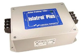 IC+207 CCC ISLATROL ACTIVE TRACKING FILTER 240VAC 1PH 7.5AMP 1.8KVA 50/60HZ BI-DIRECTIONAL EMI&RFI NOISE REJECTION W/BARRIER STRIP AT INPUT/OUTPUT 63391407195