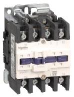SQD LC1D40008F6 CONTACTOR 575-VAC 40-AMP IEC PLUS OPTIONS