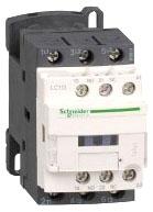 SQD LC1D09JD CONTACTOR 600VAC 9AMP IEC +OPTIONS