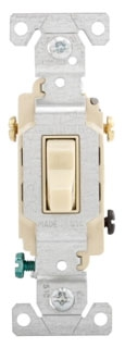 CS320V CWD IVORY 3WAY COMM. SIDE WIRED SW 20A 120/277V