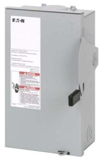 DG221NRB CH SAFETY SWITCH FUSIBLE 2P 30 AMP 240V NEMA 3R