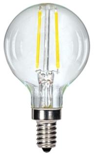 S9870 SATCO 2.5G16/LED/CL/27K/120V