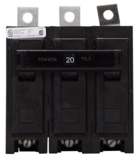 BAB3020H CH CIRCUIT BREAKER 3P 20 AMP 240V