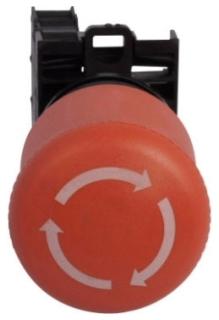 M22-PVT-K02 CH E-STOP TWIST-RELEASE 2NC