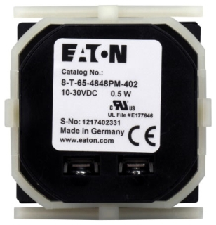 8-T-65-4848PM-402 DURANT ELECTRIC HOUR METER, 10-30VDC, 48X48MM 78668511465