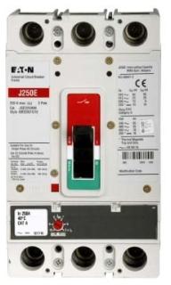 JGE3175FAG C-H 3P 175 Amp 25KA Fix Therm / Adj Mag Brkr w/ L/L Steel Collar