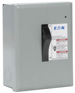 DP221NGB CH SAFETY SWITCH FUSIBLE 2P 30 AMP 240V NEMA 1