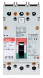 EGH3020FFG C-H E 3P 20A 65kA Fixed thermal, Fixed mag, single pack bkr