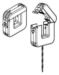 CT-SP-4-400-5A CH SPLIT-CORE CURRENT TRANSFORMER 400/5A 78668587345