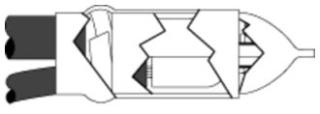 5322 3M MOTOR LEAD SPLICING KIT (3 SPLICES/KIT) 05400712272