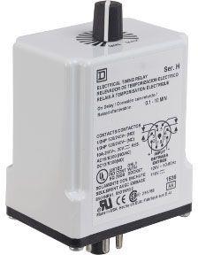 SQD 9050JCK28V14 TIMER RELAY 240-VAC 10-AMP T-JCK