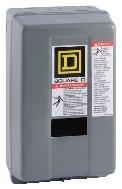 SQD 8903SMG3V02C LIGHTING CONTACTOR 600 VOLT 30 AMP NEMA PLUS OPTIONS