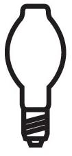 H38JA-100/DX SYL 100W ET23.5 MOGUL 69408 Coated Mercury Lamp