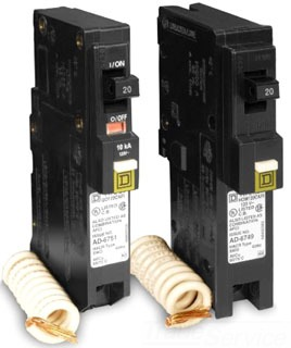 SQUARE D BY SCHNEIDER ELECTRIC - QO120CAFI