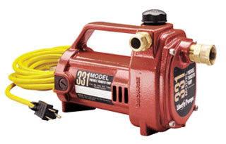 1/2 hp, PORTABLE TRANSFER PUMP 331