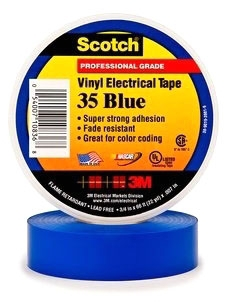 3M ELECTRICAL - 35-BLUE-3/4X66FT