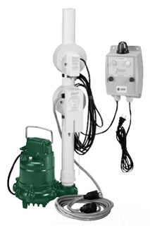 ZOELLER 940-0005 OIL SMART SUMP PUMP SYSTEM WITH N57 3/10HP PUMP AND OIL SMART ALARM SYSTEM
