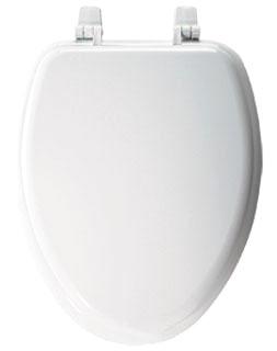 1400TTA-000 BEMIS WHITE CFWC WOOD SEAT