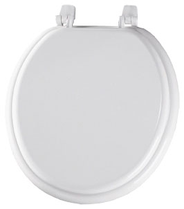400TTA-000 BEMIS WHITE CFWC WOOD SEAT