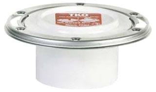 884-PTM SIOUX CHIEF TKO PVC CLOSET FLANGE METAL 4X3