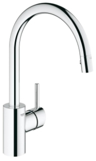 32.665-001 GROHE CONCETTO PULLDOWN DUAL SPRAY-STARLIGHT CHROME