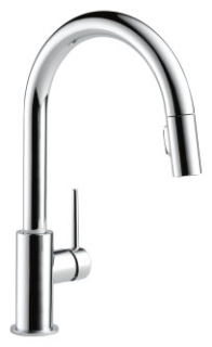 9159-DST DELTA SINGLE HANDLE PULL DOWN N FAUCET
