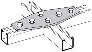Channel Gusset Plate