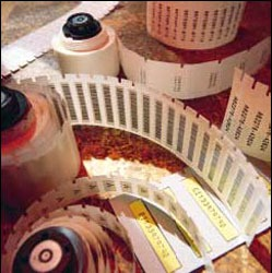 BRADY PTL-7-423 0.500-IN X 0.500-IN (12.70mm X 12.70mm) PTL -PORTABLE THERMAL LABELS -TLS2200 500 PER ROLL