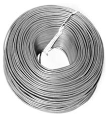 EPCO TY18G 18-AWG GALVANIZED TIE WIRE 30-INCH LENGTH (APPROX 1750-PIECES)