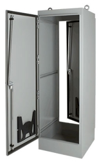 HOFFMN A602418FS 60.06 X 24.06 X 18.06 1-DOOR FREE STANDING ENCLOSURE TYPE12 STEEL/PAINT