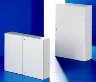 RITTAL 1114500 1400H1000W0300D AE RAL7035 STEEL ELECTRICAL CABINET, PAINTED, WITH MPL