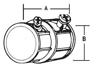 EMT/Flexible Conduit Combination Coupling