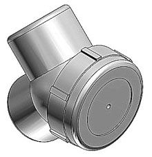 T&B LBY55-TB 1-1/2-INCH FEMALE TO FEMALE CAPPED IRON ELBOW