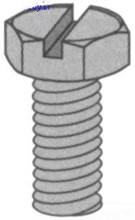 UNISTRT HSHS031150EG 516-INCH X 1-1/2-INCH HEX HEAD SCREW ELECTRO-GALVANIZED