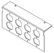 Raised Floor Box Communication Plate