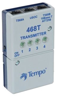 Cable Tester Transmitter and Tone Generator