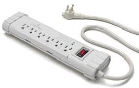Surge Protective Plug Strip