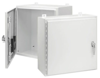 HOFFMN A36H3012SSLP3PTW 36.00 X 30.00 X 12.00 WALL-MOUNT 4X ENCLOSURE 3 POINT LATCH STAINLESS STEEL WHITE