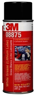 3M 8875 3M WHITE GREASE (LITHIUM LUBE) 08875 10.5-OUCES NET WEIGTH