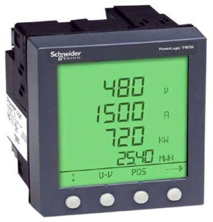 SQD PM820U PM820 METER UNIT ONLY W/O DISPLAY