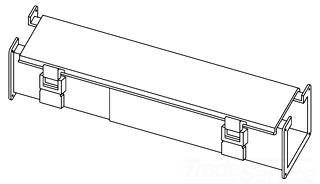 Wireway Cut-Off Fitting