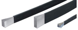 ERICO 505523 ERIFLEX FLEXIBAR, TINNED COPPER, 400 A, 1.575IN X 0.039IN (40 MM X 1 MM), 394.7 KCMIL (200 MM)
