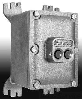 ADALET XIFC040604N415021-11 EXPLOSIONPROOF MANUAL MOTOR STARTER / CURRENT RANGE 10 - 16