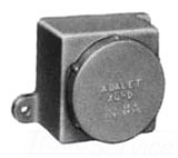 """ADALET XJDHN4 EXPLOSIONPROOF SCREW COVER JUNCTION BOX / SOLID COVER / 4-1/8""""W X 4-1/8""""L X 3-7/8""""D"""