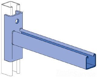 UNISTRT P2233PG 18-INCH BRACKET