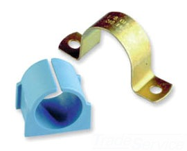 UNISTRT 020M024ZD 1-1/4-INCH OMEGA STYLE PIPE CLAMP ZINC DIPPED