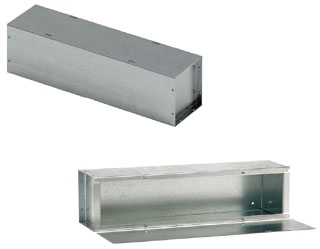 BL-ENC 121236-GTGV-NK 36.00-INCH GALV NEMA-1 SC STRAIGHT SECTION WITHOUT KNOCKOUT