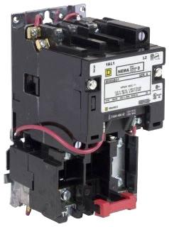 SQD 8536SBO2V02BS STARTER 600VAC 18AMP NEMA +OPTIONS
