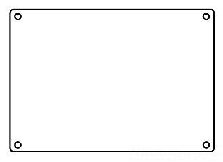 KILLARK 3FSBC CVR, 3GANG BLANK CAST AL
